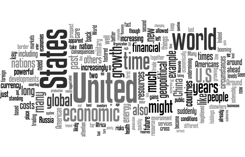When Giants Fall: Introduction - Word Cloud (via Wordle)